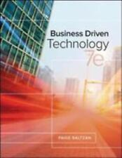 Business Driven Technology by Paige Baltzan (2017, Hardcover)