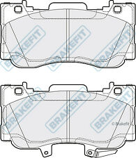 Brake Pads Set fits FORD MUSTANG 2.3 Front 2015 on Brakefit 2044140 5315762 New