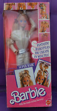 Superstar Era Barbie Super Hair Barbie Fantastic Hairstyles you Create NIB 1986
