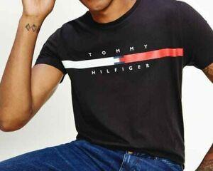 Tommy Hilfiger Crew Neck Organic Cotton T-Shirt For Men Slim Fit