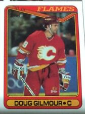 1990 Topps Hockey #136 Doug Gilmour - Many Sports Card Available