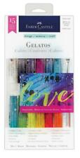 Faber Castell Iridescents Set Gelatos Crayons Water Soluble FC121819