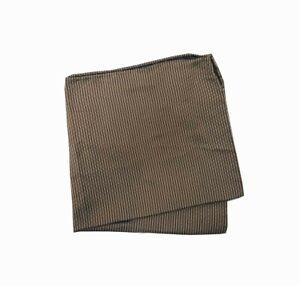 Armani Collezioni Mens Pochette 350064 Pocket Square Brown