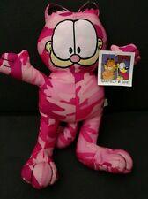 Garfield & Odie Plush camouflage pink stuffed animal doll toy kids