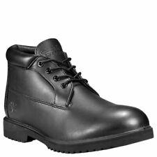 Men's Timberland Waterproof Chukka Leather Boots Black 50059