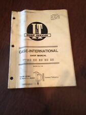 INTERNATIONAL CASE I&T TRACTOR SHOP SERVICE REPAIR MANUAL BOOK 1190 1594 1490