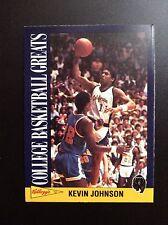 1992 Kellogg's Kevin Johnson Basketball Card #5