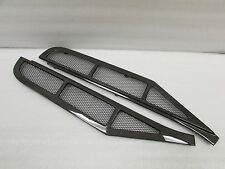 Ferrari 458 Coupe, Carbon Fiber Engine Deck Lid Grille Louvers, New, 1x1 Weave