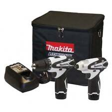 MAKITA DK1493WX 10.8v Cordless Lithium-ion 2 Piece Kit