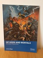 Of Gods and Mortals Mythological Wargames Rules Book Osprey Ancients Fantasy VGC