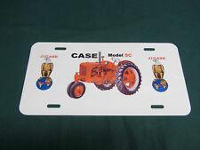 CASE SC Tractor License Plate