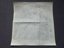 Landkarte Meßtischblatt 3012 Neuarenberg, Neuvrees, Neulorup, Ellerbrok, um 1945