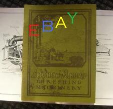 ADVANCE RUMELY Threshing Machinery Catalog 1913/14 Steam Traction Engine OilPull
