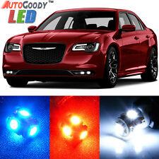 11x Premium Xenon White LED Light Interior Package Upgrade for Chrysler 300 300C