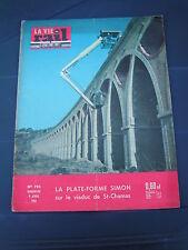 vie du rail 1961 792 MAURITANIE SAINT CHAMAS PONTARLIER DOMANOVA BIRSECKBAHN DOR