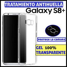 FUNDA TPU DE GEL SILICONA 100% TRANSPARENTE PARA SAMSUNG GALAXY S8+ PLUS CARCASA