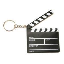 "2.5"" HOLLYWOOD DIRECTORS CLAPBOARD FILM TV MOVIE KEYCHAIN KEYRING COOL FUN GIFT"