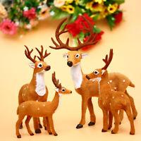 un jouet en peluche. les wapitis ornement décoration poupée de renne de noël
