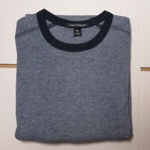 100% Cotton Jumper - Men's, Fields & Stream - DENIM BLUE