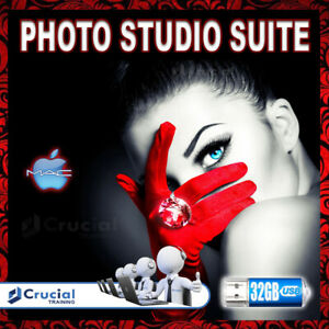 Photo Studio Suite, Professional Image Design and Photo Editing Software USB Mac