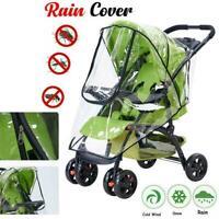 Universal Buggy Rain Cover Baby Pushchair Stroller Shiel Pram Wind S9C1