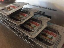 Nutella Portionspackungen 30 x 15 g Portionen einzeln verpackt Mini klein