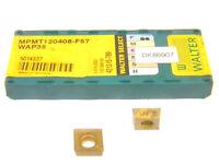 7 NEW SURPLUS WALTER SELECT MPMT 120408-F57 WAP35 CARBIDE INSERTS