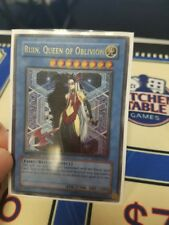 Ruin Queen of Oblivion -UTR SOI-EN034 - 1st Edition Ultimate Rare LP/NM Yugioh