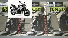 4 PASTIGLIE ANTERIORI ZCOO T001 EXC SUZUKI GSR 600-2005 2006 2007 2008 2009