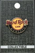 "Hard Rock Cafe MUNICH 2015 Alternative City Name CLASSIC HRC LOGO ""München"" PIN"