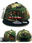 Leader New California Republic Cali Youth Kids Camo Black Era Snapback Hat Cap