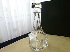 Superbe  carafe à whisky, cognac en Cristal  signée Villeroy Boch