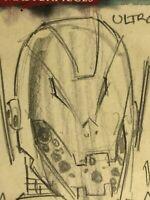 Marvel Masterpieces - hand-drawn artist sketch card - Ultron