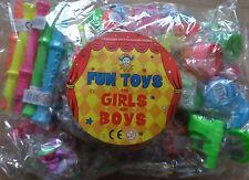 100 partito Bag Filler GIOCATTOLI PINATA TOMBOLA LUCKY concavo favorisce ragazzi e ragazze