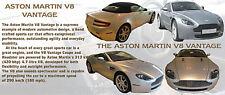 ASTON MARTIN V8 VANTAGE CLASSIC CAR MUG LIMITED EDITION