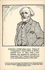 National Council of Labour Colleges, Hampstead. Plebs Portrait. Kier Hardie.
