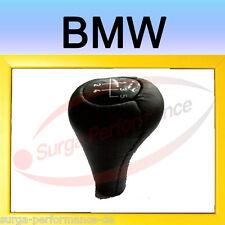 BMW e36 e34 e32 e28 e39 e38 e46 Pomello a siringa copertura in vera pelle NUOVO OVP