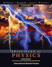 Principles of Physics by David Halliday, Robert Resnick, Jearl Walker (Paperbac…