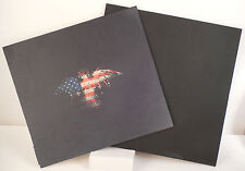"""Kydex Infused American Eagle Print w/ Blk  Kydex Approx 7 7/8"""" x 7 7/8"""""""