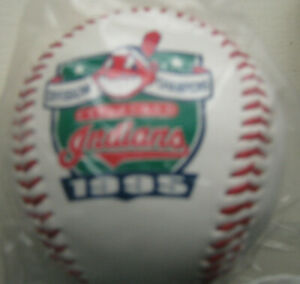 Vintage CLEVELAND INDIANS 1995 Division Champions BASEBALL mint LIMITED EDITION