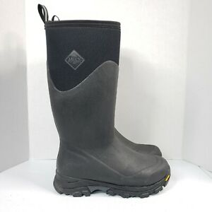 """Muck Arctic Ice Extreme 15.5"""" Tall Boots Mens Size 7 Black Vibram Soles Neoprene"""