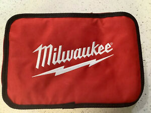 """2* New Milwaukee Fuel 13"""" M12 Contractor Soft Case Tote Empty Tool Bag 13*9*4"""