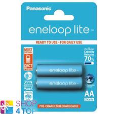 ricaricabile AAA Micr Panasonic eneloop BK-BK-4LCCE//2de Lite Ready to Use Ni-MH