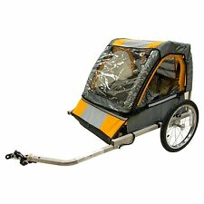 Halfords Bicycle Trailer Double Buggy Seat for Kids