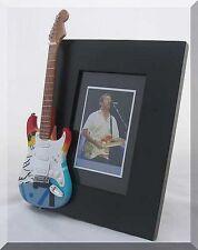 ERIC CLAPTON  Miniature Guitar Frame CRASH
