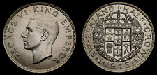New Zealand 1945 Half Crown KM#11 BU .500 Silver Only 420,000 Minted 5351