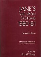 WARFARE JANE'S WEAPON SYSTEMS 1980-81 MISSILES RADAR