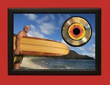 "Jimmy Buffett Poster Art Wood Framed 45 Record Display ""C3"""