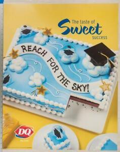 Dairy Queen Poster Sweet Success Graduate Ice Cream Cakes 22x28 dq2