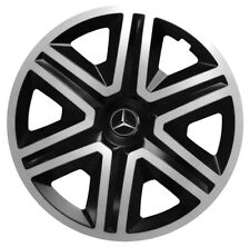 15'' Wheel trims for Mercedes A Class - black/silver 4x15''